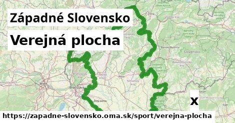 verejná plocha v Západné Slovensko