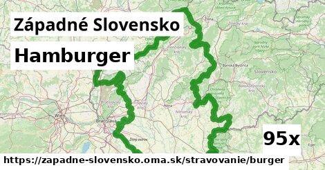 ilustračný obrázok k Hamburger, Západné Slovensko