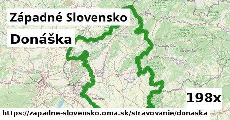 ilustračný obrázok k Donáška, Západné Slovensko