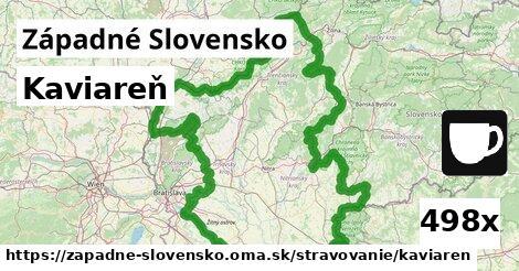 kaviareň v Západné Slovensko