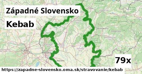 ilustračný obrázok k Kebab, Západné Slovensko