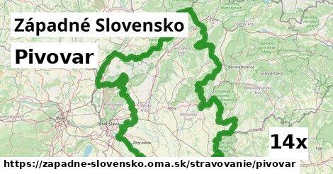 ilustračný obrázok k Pivovar, Západné Slovensko