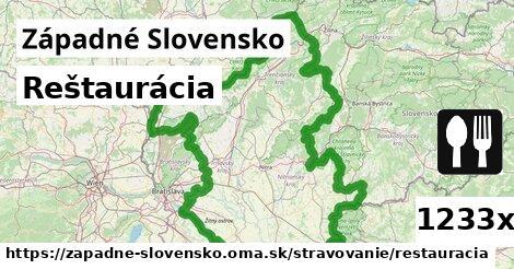 ilustračný obrázok k Reštaurácia, Západné Slovensko