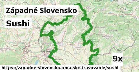 ilustračný obrázok k Sushi, Západné Slovensko