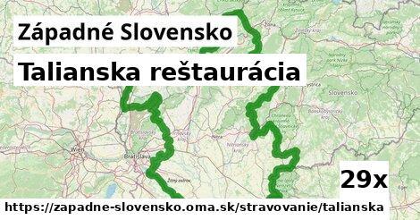 ilustračný obrázok k Talianska reštaurácia, Západné Slovensko