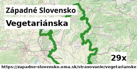 ilustračný obrázok k Vegetariánska, Západné Slovensko