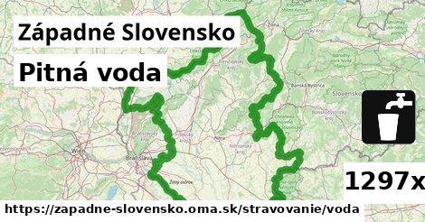 ilustračný obrázok k Pitná voda, Západné Slovensko