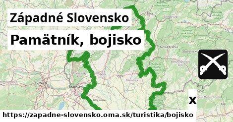 ilustračný obrázok k Pamätník, bojisko, Západné Slovensko