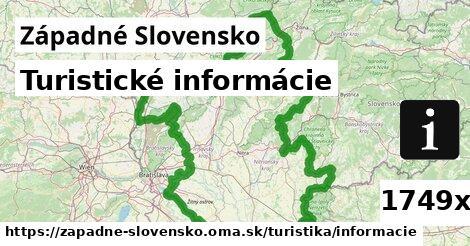 ilustračný obrázok k Turistické informácie, Západné Slovensko