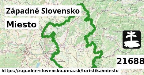 miesto v Západné Slovensko