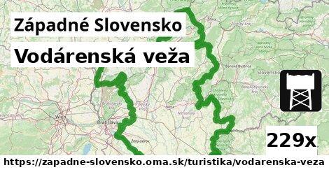 ilustračný obrázok k Vodárenská veža, Západné Slovensko