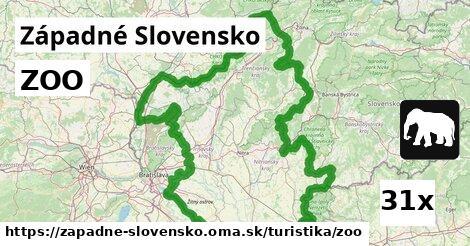 ilustračný obrázok k ZOO, Západné Slovensko