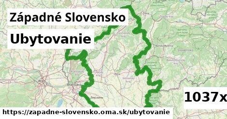 ubytovanie v Západné Slovensko