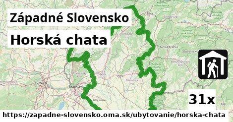 ilustračný obrázok k Horská chata, Západné Slovensko