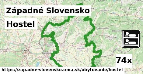 hostel v Západné Slovensko