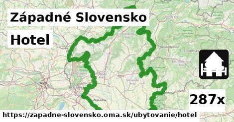 ilustračný obrázok k Hotel, Západné Slovensko