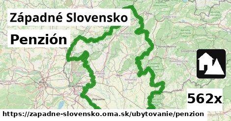 ilustračný obrázok k Penzión, Západné Slovensko