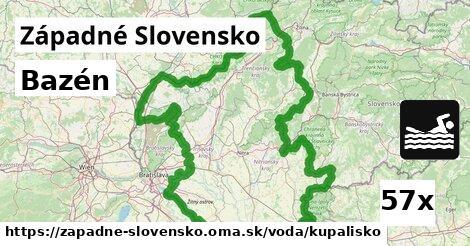 kúpalisko v Západné Slovensko