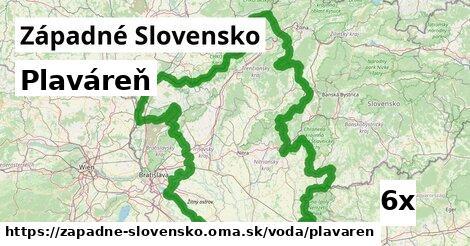 plaváreň v Západné Slovensko