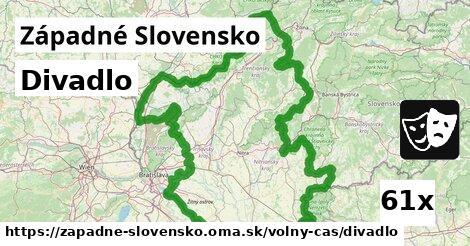 ilustračný obrázok k Divadlo, Západné Slovensko