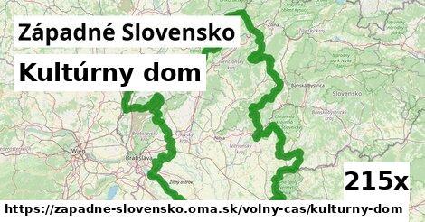 kultúrny dom v Západné Slovensko