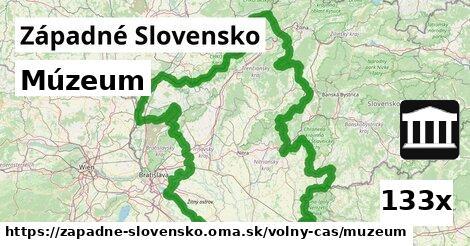 ilustračný obrázok k Múzeum, Západné Slovensko
