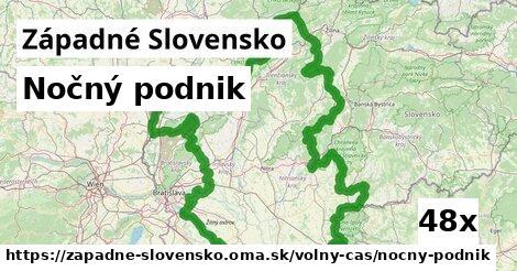 nočný podnik v Západné Slovensko