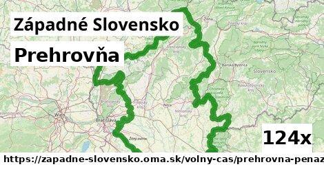 prehrovňa v Západné Slovensko