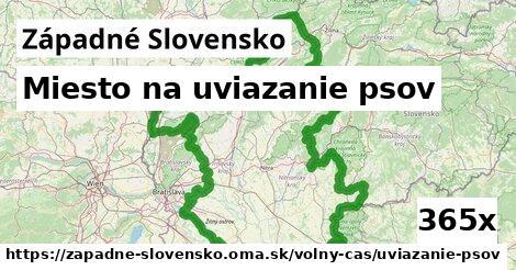 ilustračný obrázok k Miesto na uviazanie psov, Západné Slovensko