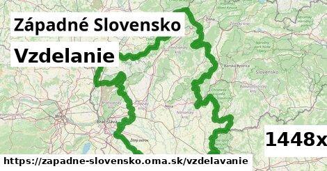 vzdelanie v Západné Slovensko
