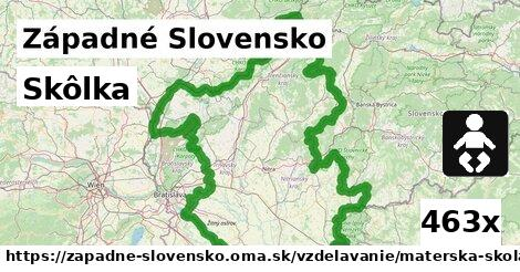 skôlka v Západné Slovensko