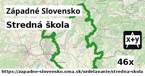 stredná škola v Západné Slovensko