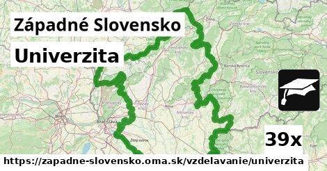 univerzita v Západné Slovensko