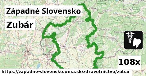 zubár v Západné Slovensko