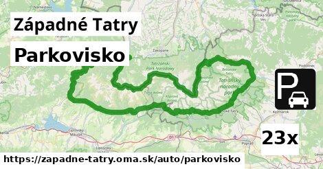 ilustračný obrázok k Parkovisko, Západné Tatry