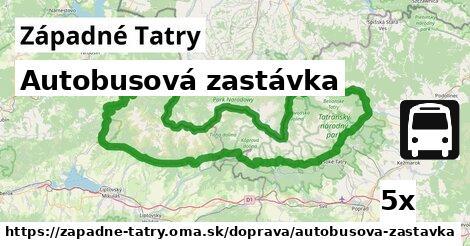 ilustračný obrázok k Autobusová zastávka, Západné Tatry