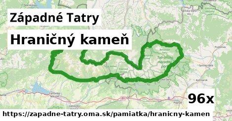ilustračný obrázok k Hraničný kameň, Západné Tatry