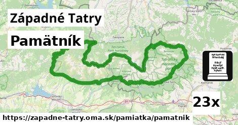 ilustračný obrázok k Pamätník, Západné Tatry