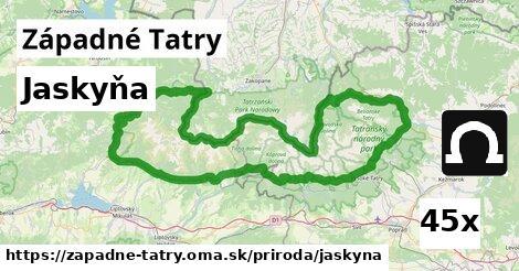 jaskyňa v Západné Tatry