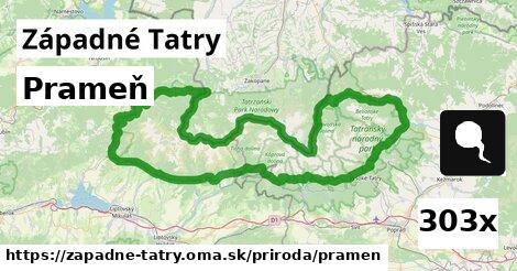 ilustračný obrázok k Prameň, Západné Tatry