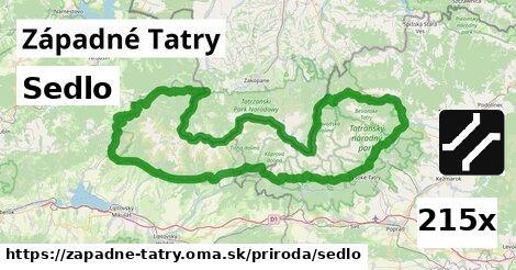 ilustračný obrázok k Sedlo, Západné Tatry