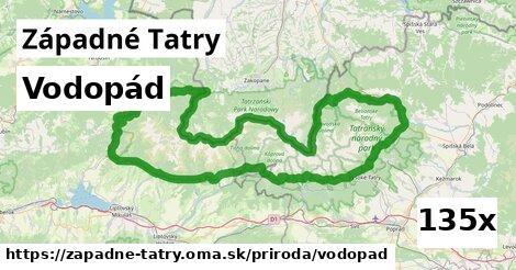 ilustračný obrázok k Vodopád, Západné Tatry