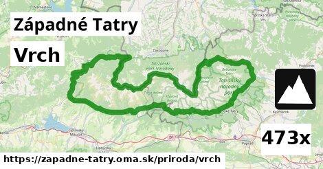 ilustračný obrázok k Vrch, Západné Tatry