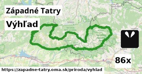 ilustračný obrázok k Výhľad, Západné Tatry
