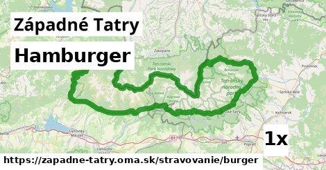 ilustračný obrázok k Hamburger, Západné Tatry