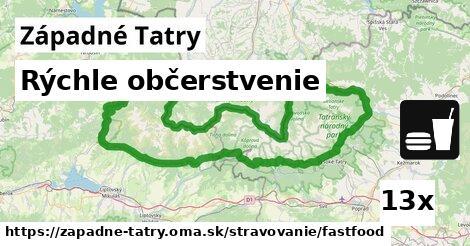 ilustračný obrázok k Rýchle občerstvenie, Západné Tatry