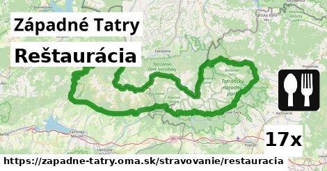 ilustračný obrázok k Reštaurácia, Západné Tatry