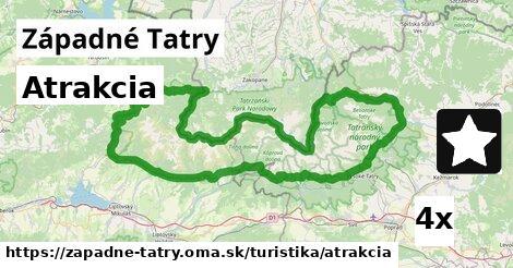 ilustračný obrázok k Atrakcia, Západné Tatry