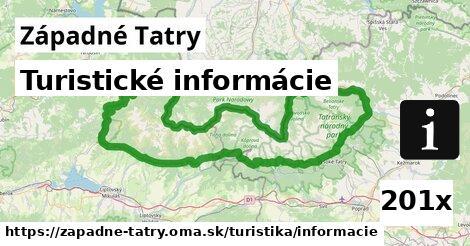 ilustračný obrázok k Turistické informácie, Západné Tatry