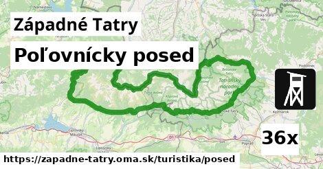 ilustračný obrázok k Poľovnícky posed, Západné Tatry